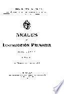 Anales de instrucción primaria