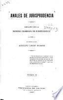 Anales de jurisprudencia