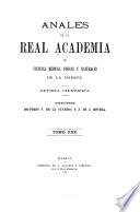 Anales de la Academia de ciencias medicas, físicas y naturales de la Habana
