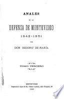 Anales de la defensa de Montevideo, 1842-1851