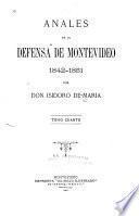 Anales de la defensa de Montevideo