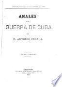 Anales de la guerra de Cuba
