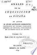 Anales de la Inquisición de España