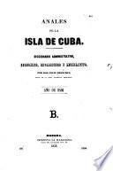Anales de la isla de Cuba
