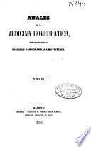 Anales de la medicina homeopática