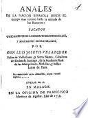 Anales de la Nación Española desde el tiempo más remoto hasta la entrada de los Romanos