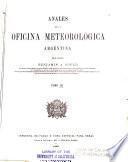 Anales de la Oficina Meteorológica Argentina