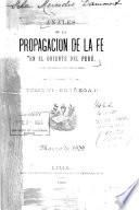 Anales de la Propagacion de la Fe en el Oriente del Peru Tomo VI Entrega 1 Marzo de 1909