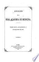 Anales de la Real Academia Nacional de Medicina