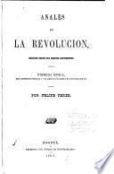 Anales de la revolucion