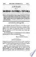 Anales de la Sociedad Anatómica Española