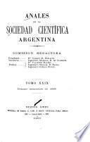 Anales de la Sociedad Científica Argentina