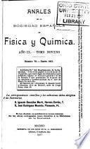 Anales de la Sociedad Española de Física y Química