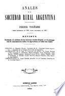 Anales de la Sociedad Rural Argentina