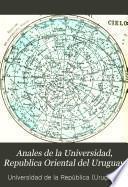 Anales de la Universidad, Republica Oriental del Uruguay