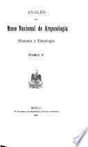 Anales del Museo Nacional de Arqueología, Historia y Etnología