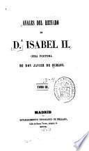 Anales del reinado de da Isabel ii