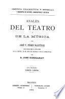 Anales del teatro y de la música
