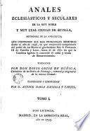 Anales eclesiasticos y seculares..., 1