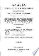Anales eclesiasticos y seculares..., 2