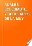 ANALES ECLESIASTICOS Y SECULARES DE LA MUY