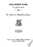 Anales históricos de Reus, desde su fundacion hasta nuestros dias