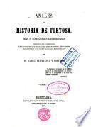 Anales ó historia de Tortosa