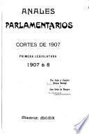 Anales parlamentarios