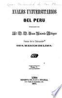 Anales universitarios del Perú