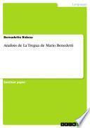 Analisis de La Tregua de Mario Benedetti