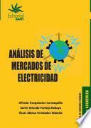 Análisis de mercados de electricidad