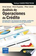 Análisis de operaciones de crédito