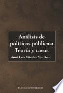 Análisis de políticas públicas: