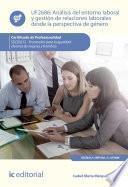 Análisis del entorno laboral y gestión de relaciones laborales desde la perspectiva de género. SSCE0212