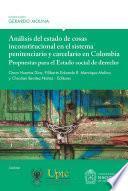 Análisis del estado de cosas inconstitucional en el sistema penitenciario y carcelario en Colombia: propuestas para el Estado social de derecho