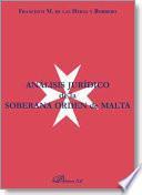 Análisis jurídico de la soberana orden de Malta
