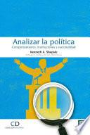 Analizar la política