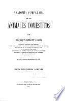 Anatomía comparada de los animales domésticos