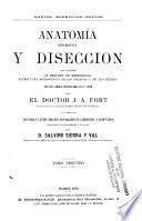 Anatomía descriptiva y disección