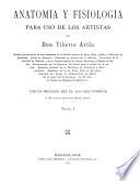 Anatomía y fisiología para uso de los artistas