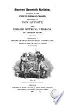Ancient Spanish Ballads Relating to the Twelve Peers of France Mentioned in Don Quixote, 2