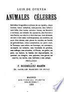 Animales célebres ...
