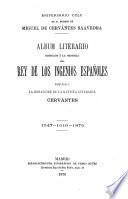 Aniversario CCLX de la muerte de Miguel de Cervántes Saavedra