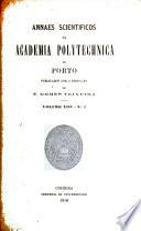 Annaes scientificos da Academia Polytecnica do Porto