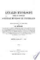 Annales mycologici
