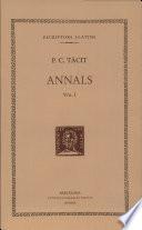 Annals (vol. I)