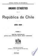 Annuaire statistique de la République du Chili