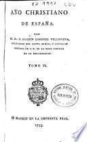 Año christiano de España