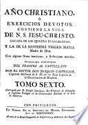 Año christiano ó Exercicios devotos