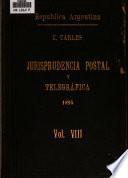 Antecedentes administrativos de correos y telégrafos